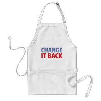 Change It Back Adult Apron