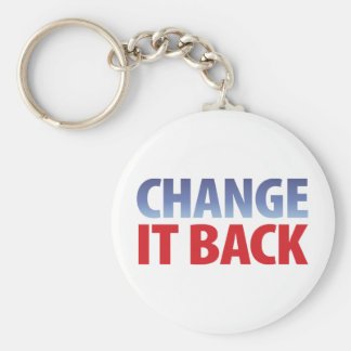 Change It Back Keychain