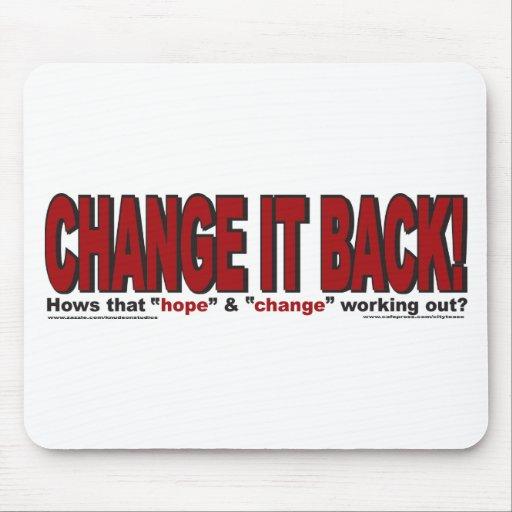 CHANgE-IT-BACK Mouse Pad