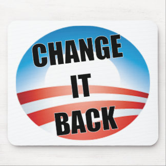 Change It Back Mouse Pad