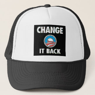 CHANGE IT BACK TRUCKER HAT