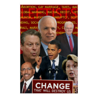Change: It isn't just Obama Posters