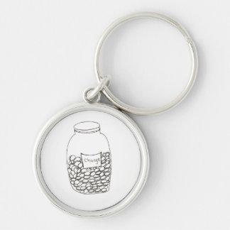 Change Jar Keychain