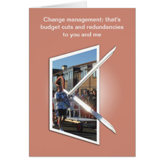 Change management card