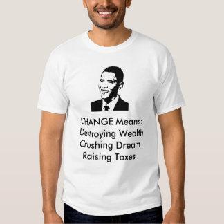 CHANGE Means:Destroy... T-Shirt
