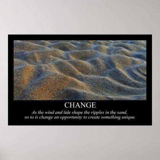 Change Motivational Print
