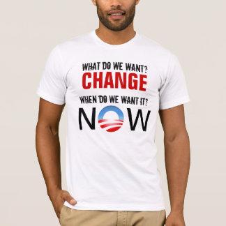 CHANGE NOW T-Shirt