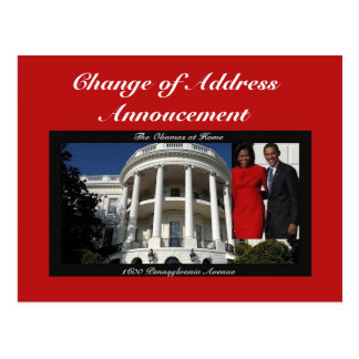 Change of Address Annoucement Postcard