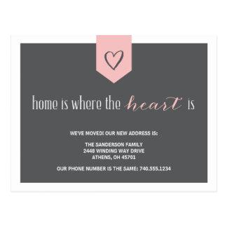 Change of Address Announcement Postcard