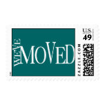 CHANGE OF ADDRESS ANNOUNCEMENT STAMPS