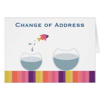 Change of Address Card