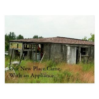 Change of Address Card: Appliance Postcard