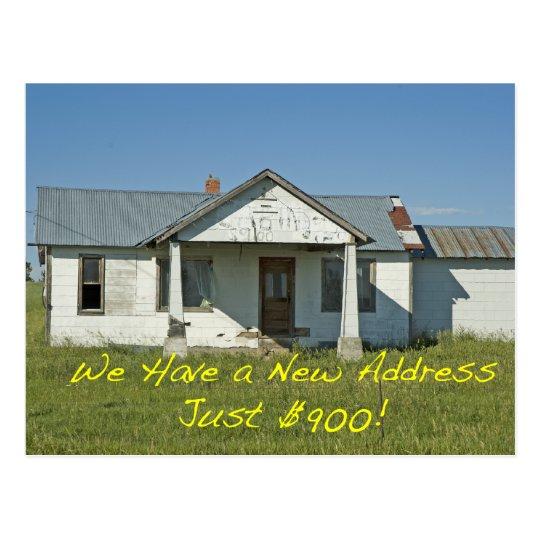Change of Address Card: Just $900 Postcard