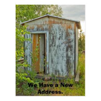 Change of Address Card: One Room Home Postcard
