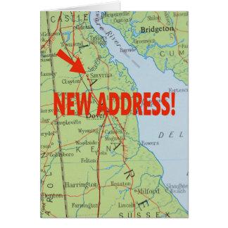 Change of address card - Smyrna, Delaware