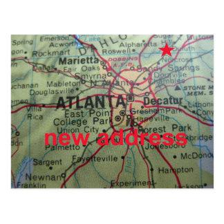 Change of address card Sugar Hill