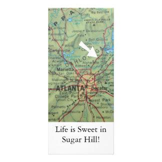 Change of address card Sugar Hill Rack Cards
