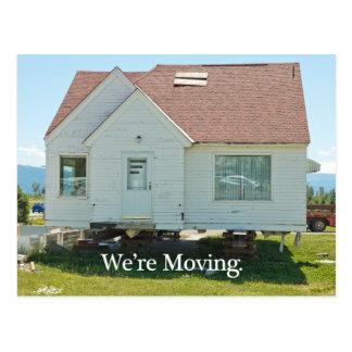 Change of Address Card: We're Moving Postcard
