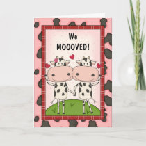 Change of Address - Cows Announcement