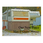 Change of Address - Guest House Post Card