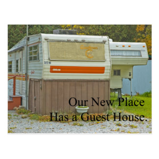 Change of Address - Guest House Postcard