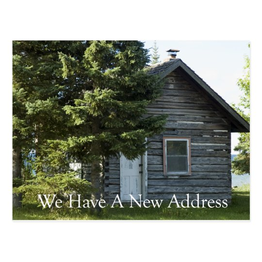 Change of Address - Lakeshore Postcard