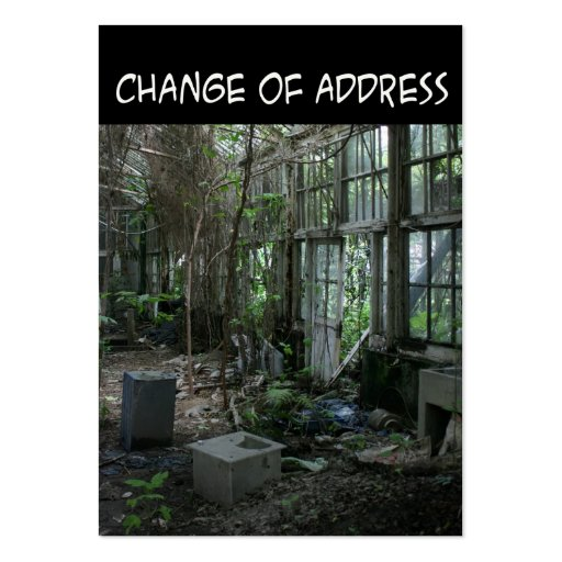 how to change corporation address