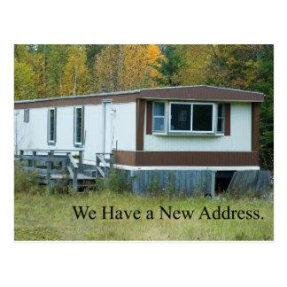 Change of Address - Mobile Home Postcard