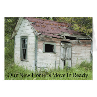 Change of Address: Move In Ready Greeting Card