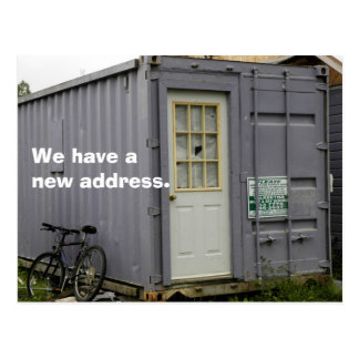 Change of Address Postcard: True Trailer Home Postcard