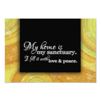 Change of Address We Moved House Warming Blessing 3.5x5 Paper Invitation Card