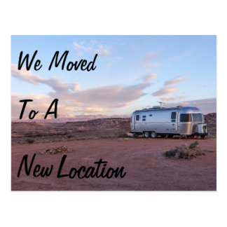 Change of Address We Moved New Location Postcard
