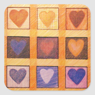 """""""Change of Heart"""" stickers"""