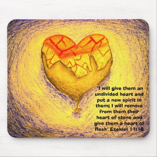 Change of Heart Yellow Mousepad