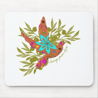 Change, Peace, Hope {Olive Branch and Dove} Mouse Pad