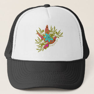 Change, Peace, Hope {Olive Branch and Dove} Trucker Hat