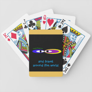 'Change perspective eyes' Bicycle Playing Cards