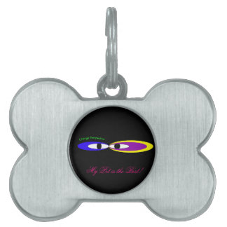 'Change perspective eyes' Pet Tag
