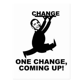Change Postcard
