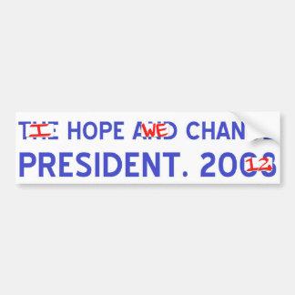 Change Pres Bumper Sticker