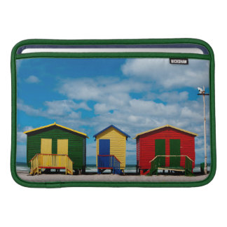 Change Rooms. Muizenberg Beach, Cape Town MacBook Air Sleeve
