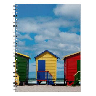Change Rooms. Muizenberg Beach, Cape Town Notebook