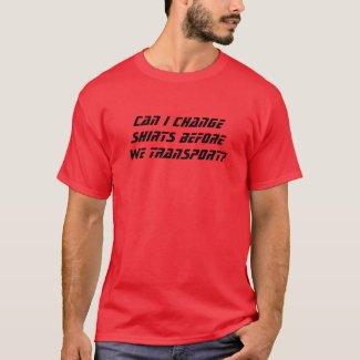 Change Shirts