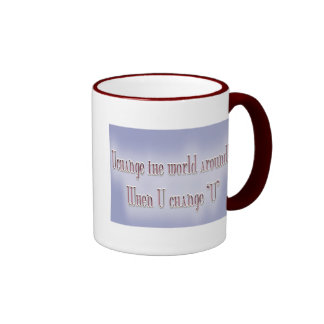 "change starts with ""U"" Coffee Mugs"