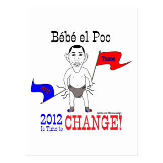 Change the Baby Postcard
