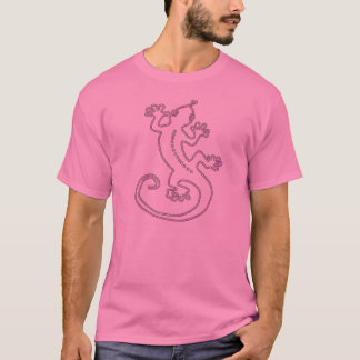 Change the Color Gecko 2 pink T-Shirt