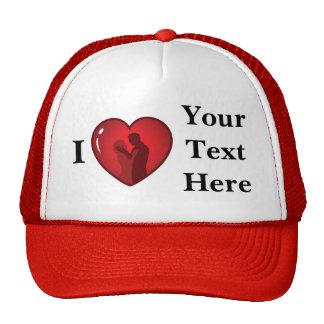 Change the Color Heart Trucker Hat