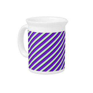 Change the Color Stripe2 Purple Pitcher