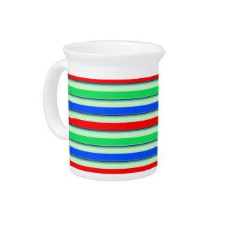Change the Color Stripe3 Beverage Pitcher