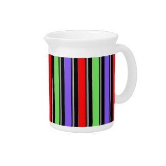 Change the Color Stripe Beverage Pitcher